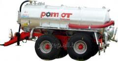 Machine cesspool Pomot of 13000 liters