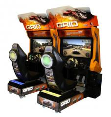 Video simulator of the races Grid Twin, device