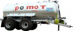 Machine cesspool Pomot of 18000 liters