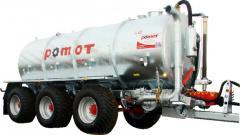 Machine cesspool Pomot of 20000 liters