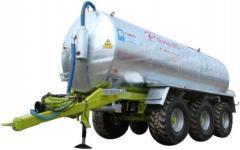 Machine cesspool Pomot of 22000 liters