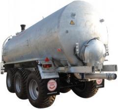 Machine cesspool Pomot of 25000 liters