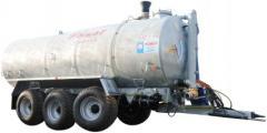 Machine cesspool Pomot of 30000 liters