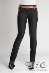 The trousers which are made narrower by Beverley -