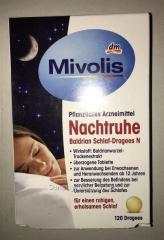 Біологічно активна добавка Mivolis Nachtruhe