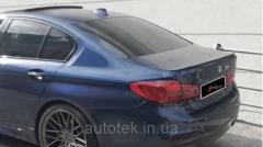 Спойлер багажника BMW 5 серия F10 2010-2017