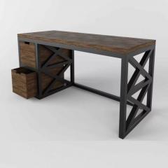 Стол письменный GoodsMetall из металла и дерева