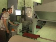 The equipment for utilization of waste paper and