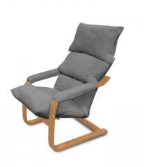 Мягкое кресло трансформер ММебель СК Дизайн Серый