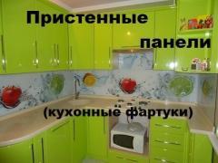 Кухонные фартуки, Столы обеденные стеклянные,