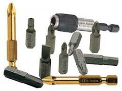 Bits, nozzles, extenders
