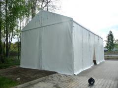 Тентовые шатры без окон