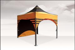 Garden pavilions, trade tents