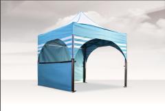 Тенты шатровые