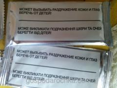 Туалетне каченя стікер чистоти д\ун. 1шт/уп