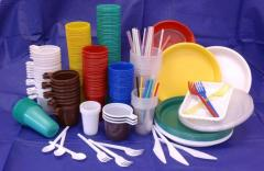Disposable tableware wholesale from the producer