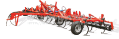 Cultivator of continuous processing of
