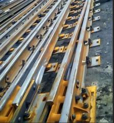 Railway way construction, repair, component parts,