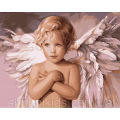 "Картина по номерам. Дети ""Ангел удачи"""