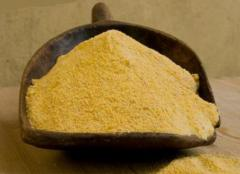 Cornmeal, packing on 1 kg.