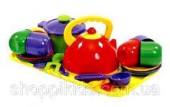 Набор детской посуды.Игрушечная посуда детская