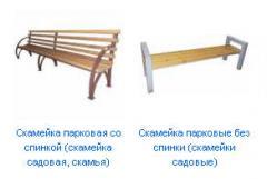 Benches are metal garden, park