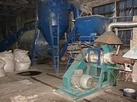 Line of production of fuel briquettes