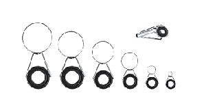 Кольца на удочку набор на 4м