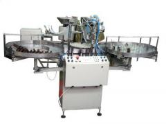 The automatic machine of flood and packing of