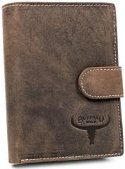 Кошелек мужской Buffalo Wild RM-06L-HBW BROWN