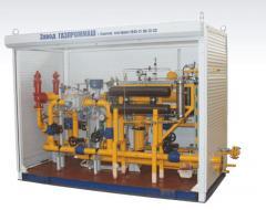 Оборудование газовое, мобильный узел подачи газа