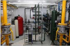 Transportable boiler installations modular,