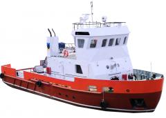 Многофункциональное судно обеспечения,  пр....