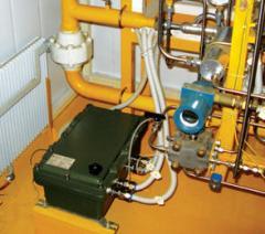 Odorizatora of gas, control unit of a BUO-02 gas