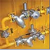 Equipment and points gas control, gas control GRP,