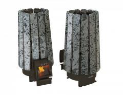 Дровянная печь для бани Grill'D Cometa 180 Vega Long Stone