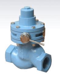 Locking safety valves, valves-otsekateli safety