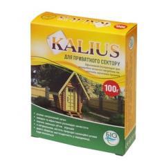 Биодеструктор Калиус 100 г для выгребных ям и