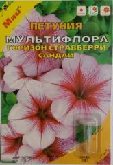 Семена Петунии сорт Мультифлора Горизон Стравберри