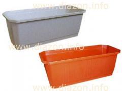 Balcony flower box of 40 cm