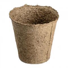 Торфяной стаканчик (горшок) 110*100 мм.