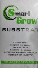 Торфяной субстрат Smart Grow 250 л.