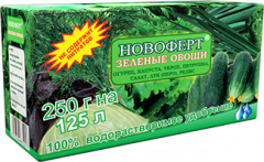 """Удобрение Новоферт """"ЗЕЛЕНЫЕ ОВОЩИ"""" NPK"""