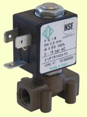 The electromagnetic valve for an aquarium of ODE