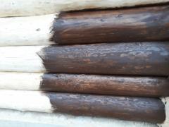 Масло льняное с воском для деревяной мебели цвет