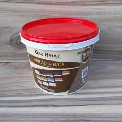 Льняное масло с воском Oak House серого цвета 3 л.