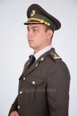 Bunda. Vojenské slavnostní obleky