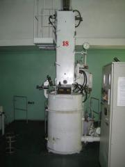 Vacuum furnaces, equipment for cultivation of