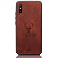 Чехол Deer Case для Xiaomi Redmi 9A Brown