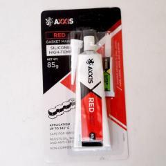 Герметик прокладок красный 85гр AXXIS + клей...